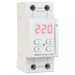 Реле напряжения RBUZ(ZUBR) D2-40 red