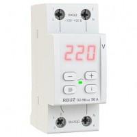 Реле напряжения RBUZ(ZUBR) D2-50 red