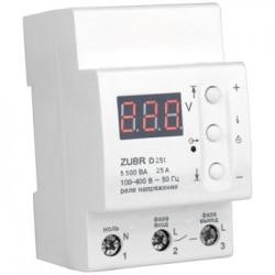 Реле напряжения RBUZ(ZUBR) D25t