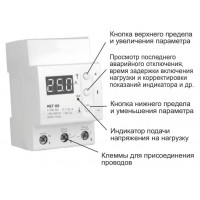 Реле тока RBUZ(ZUBR) I25