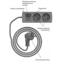 Реле напряжения в розетку RBUZ(ZUBR) R216y