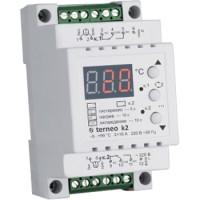 Терморегулятор для теплого пола Terneo k2 - двухканальный