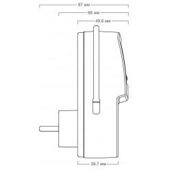 Терморегулятор для обогревателей Terneo pro-z