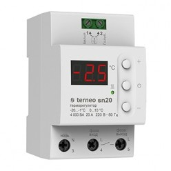 Терморегулятор для системы снеготаяния Terneo sn 32 A
